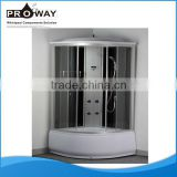 900*900*2150mm Home Use ABS Shower Tray Spa Shower Room