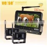 Wireless camera system for Farm agricultural equipment, Bus, Freight Hgvs, Municipal, Garbage Truck vision