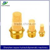 pneumatic brass silencer