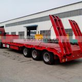 SINOTRUK low bed Semi Trailer 40T Tractor Trailer for equipment transportation (manufacturer)