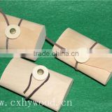 customised printing lightweight cheap balsa birch veneer soft boxes decorative kraft wood tea box for craft