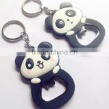 silicone 3D panda beer bottle openers