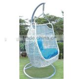 bedroom bamboo hanging swing chair