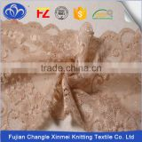 Excellent quality low price Jacquard and Textronic lace Fashion Wedding Evening hand cut swiss lace fabric
