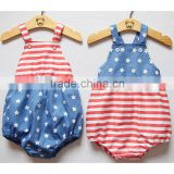 4th of July Unisex Baby Boy Girl Romper Clothing Gift Bubble Romper Newborn Toddler Outfit Sunsuit Kid Clothing HSR5901
