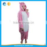 Wholesale pig animal onesie adult animal jumpsuit Pajamas