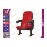 Fabric Cushion Spring Recovery Theater Chairs , Commercial Cinema Seating