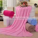 2014 Xinbo 100% polyester thin crochet adult air condition fleece blanket