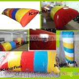 Colorful inflatable water blob for jumpoing playing