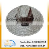 natural seagrass cheap crushable straw hats for sale
