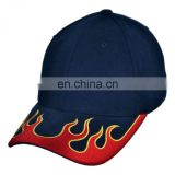 Custom Fire brim snapback cap and hat/snapback custom baseball cap