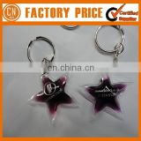 Customized Logo OEM Designed Liquid Filled Keychain