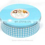 wholesale round tin can cake/Chocolate/cookie boxes