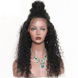 Double Wefts  Brazilian Indian No Chemical Curly Human Hair 24 Inch Brown