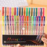Gel Pen Set High Quality Colored Pens For Use with Adult and Children Coloring Books 36 Multicolor