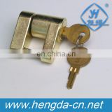 YH9008 Trailer Hitch Coupler Lock Over Other Tongue Lock Thread