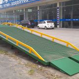 Aluminum Trailer Ramps Manual Power Truck Unloading Ramp