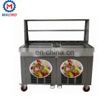 Fried Ice Cream Making Machine With Full Stainless Steel Body