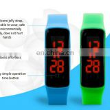 New Silicone Watchband Women Men LED Digital Screen Watch Dress Sports Watches Fashion Outdoor Wristwatches