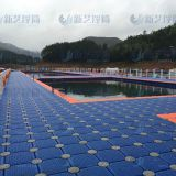 Plastic hdpe water floating platform