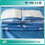 Directly Price from Factory Disposable Surgical Laparotomy Drape Pack with EO Sterilization
