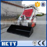 Hydraulic joysticks control for mini front loader,different types of bucket front loader