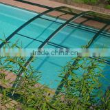 Automatic,luxury and large Aluminium Swimming Pool Covers