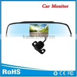 Car rear view camera reversible system 4.3 inch rearview mirror                                                                         Quality Choice