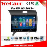 Wecaro WC-KC1053 10.2 inch android 4.4/5.1 car dvd gps for kia k3 android multimedia With Wifi 3G GPS Radio RDS navigation