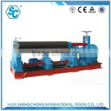 SW11 30x2000 hydraulic rolling machine manual plate rolling machine iron sheet rolling machine