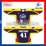 Sublimation Ice Hockey Uniform Professional Ice Hockey Jerseys For Team Custom Made Ice Hockey Jersey