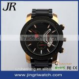Alibaba 8 years gold supplier jingri supplier 5 atm water resistant stainless steel bell and rose quartz watches