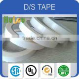high competitive double side tissue tape jumbo roll/tissue double sided tape
