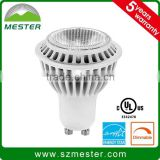 UL Energy Star led bulb Mr16 7W 12v GU5.3 GU10 COB LED Spotlight /LED Spot light 2700K,3000k ,3500k 4000k