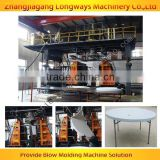 plastic round table making machinery/ blow moulding machine