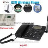 Fixed wireless GSM desk phone GSM 850/900/1800/1900 support English, Russian,French,German,Estonian,Spanish,Portuguese