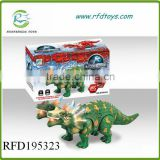 Plastic electric dinosaur toys for kids b/o dinosaur toys