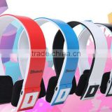 Hot selling kids bluetooth noise cancelling headphones for apple and laptop/ and mobile phone