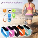 2015 Hot Selling New Model E02 Sport Bluetooth 4.0 Pedometer Smart Bracelet Health Sleep Monitoring Fitness Smartband