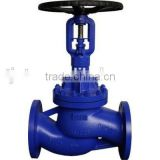 Din Standard Bellows Seal Globe Valve