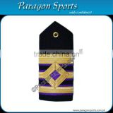 Navy Epaulette 2nd Engineer Curved Diamond 3 Gold Bar Shoulder Board