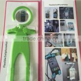 Human like silicone phone holder with blister card packaging in stock                                                                                                         Supplier's Choice