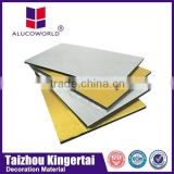 20 years guarantee Alucoworld special shape insulated wall panel facade building material