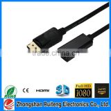 2015 displayport female to hdmi male adapter the new product hot sell all over the world