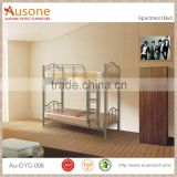 Cheap Strong double decker metal bed in low price