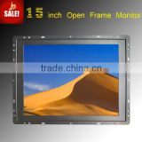 metal case 9 inch hdmi monitor with open frame HDMI input VGA input RS232/USB touch function