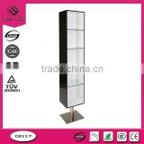 top end modern fashion style acrylic cosmetic display shelf