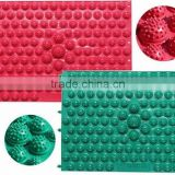 2015 colorful Eco-friendly Acupuncture foot massager mat/shakti mats
