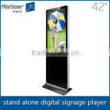 flint stone 42 Inch Interactive usb plug and play Kiosk Digital Signage/lcd digital display board