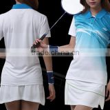 custom wholesale women badminton jersey